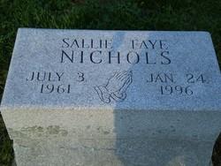 Sallie Faye Nichols