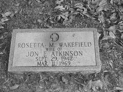 Rosetta M <I>Wakefield</I> Atkinson