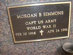 Morgan B Simmons