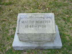 Martha A. <I>Gentry</I> Webster