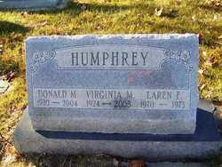 """Virginia """"Jinny"""" <I>Moehlenkamp</I> Humphrey"""