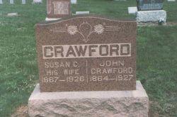 Susan Caroline <I>Williams</I> Crawford