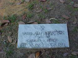 Sadie Alfe <I>Johnston</I> Bishop