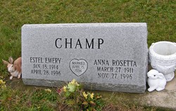 Anna Rosetta <I>Gault</I> Champ