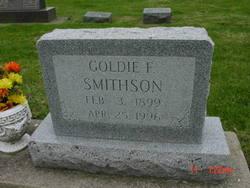 """Golda Faye """"Goldie"""" <I>Ritter</I> Smithson"""