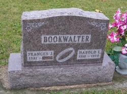 Harold L Bookwalter