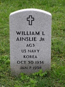 William L Ainslie, Jr