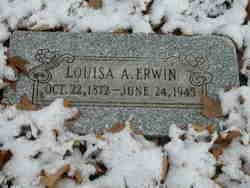 Louisa Amanda <I>Houk</I> Erwin