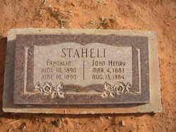 Franklin Staheli