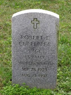 Robert E Culpepper