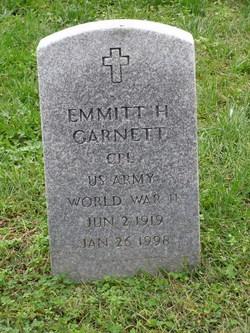 Emmitt H Garnett