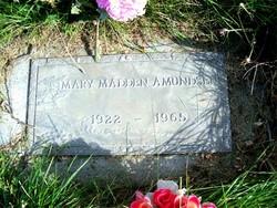 Mary <I>Madden</I> Amundsen