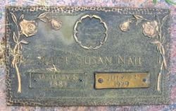 Alice Susan <I>Davis</I> Nail
