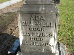 Ada Chappell