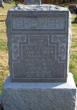 Sarah Jane <I>McCawley</I> Brewer