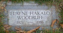 Elayne <I>Hakalo</I> Woodruff