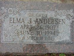 Elma Jensine Andersen