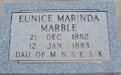 Eunice Marinda Marble