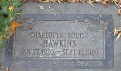 Charlotte Louise <I>Swaner</I> Hawkins