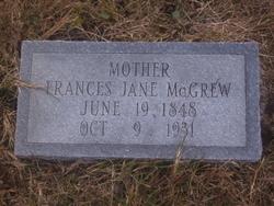 Frances Jane <I>Bohman</I> McGrew
