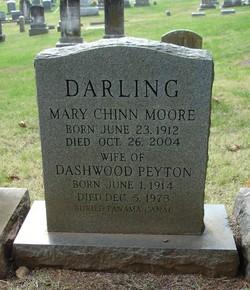 Mary Chinn <I>Moore</I> Darling