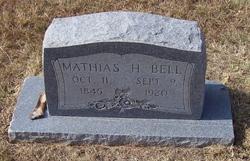"""Mathias Houx """"Mat"""" Bell"""