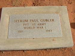 Hyrum Paul Gubler