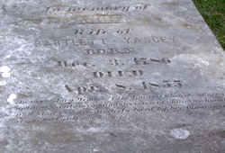 Anne <I>Graves</I> Yancey