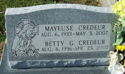 Betty <I>Guidry</I> Credeur