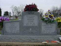 Carrie <I>Herron</I> Guinn