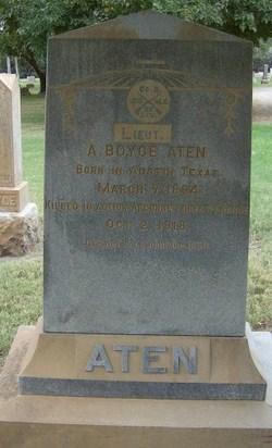Lieut Albert Boyce Aten