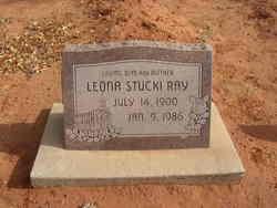 Leona <I>Stucki</I> Ray