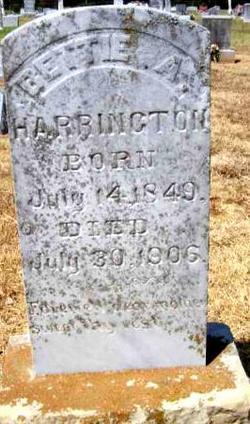 Bettie Ann <I>Fields</I> Harrington
