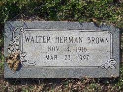 Walter Herman Brown