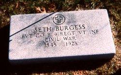Pvt Seth Burgess