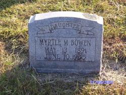 Myrtle <I>Morris</I> Bowen