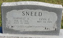 Earnest A Sneed