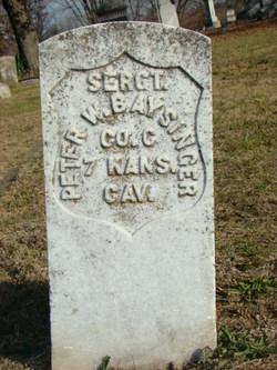 Sgt Peter Washington Baysinger