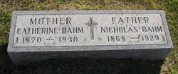 Catherine <I>Zimmer</I> Bahm