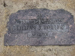 Lillian Jeanette <I>Hill</I> Fowler