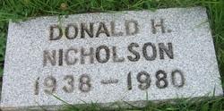 Donald Hubert Nicholson