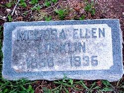 Melissa Ellen <I>Jones</I> Locklin