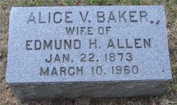 Alice Virginia <I>Baker</I> Allen
