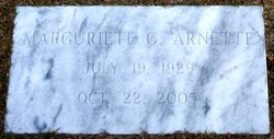 Marguriete <I>Campbell</I> Arnette