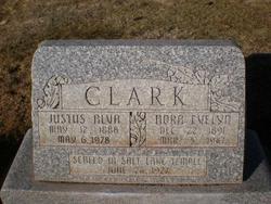 Nora Evelyn <I>Mecham</I> Clark