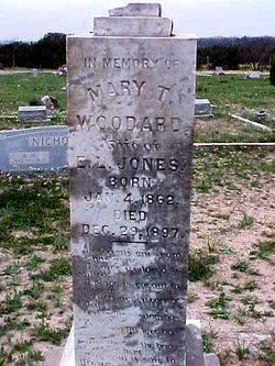 Mary Texana <I>Woodward</I> Jones
