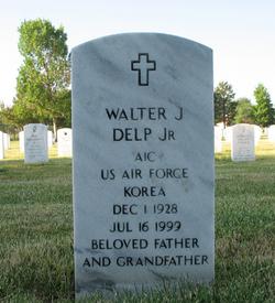 Walter J Delp, Jr