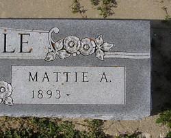 Mattie Agnes <I>Milam</I> Cunningham