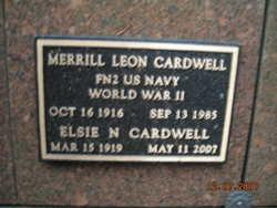 Elsie N. <I>Smith</I> Cardwell