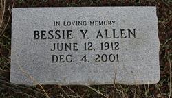Bessie Y Allen